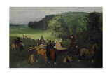 At the Racecourse (The Races)  C1861-62