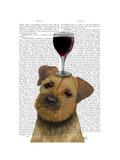 Dog Au Vin Border Terrier
