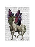 Horse with Butterfly Wings