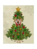 Yellow Labrador  Christmas Tree Costume