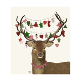 Deer  Homespun Decorations