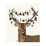 Deer  Homespun Decorations