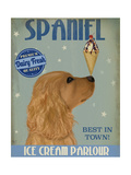Cocker Spaniel  Golden  Ice Cream