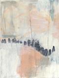 Blush & Navy I Giclée premium par Jennifer Goldberger