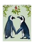 Penguins And Mistletoe