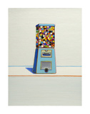 Blue Vendor, 1963 Reproduction d'art par Wayne Thiebaud