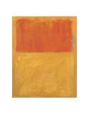 Orange and Tan, 1954 Reproduction d'art par Mark Rothko