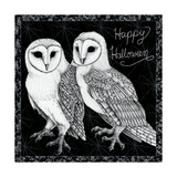 Arsenic and Old Lace Happy Halloween Giclée premium par Elyse DeNeige