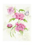 Floral Delight III Butterflies