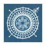 Indigo Gild Compass Rose III