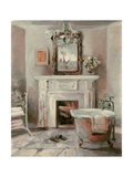 French Bath IV Gray and Blush