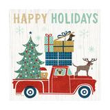 Holiday on Wheels III Reproduction d'art par Michael Mullan