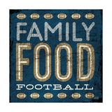 Football I Blue