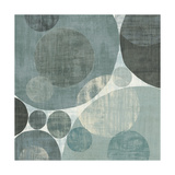 Circulation I Blue and Grey