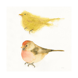 Watercolor Birds I Sq