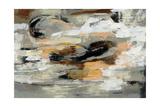 Neutral Abstract Giclée premium par Silvia Vassileva