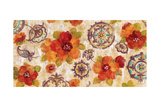 Hibiscus and Mandala Flowers