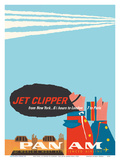 New York - 65 Hours to London - 7 to Paris - Jet Clipper Pan American World Airways