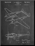 P-38 Airplane Patent