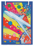 Pan American World Airways - Boeing 747 - Pop Art