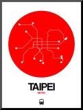 Taipei Red Subway Map