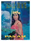 Tahiti - Pan American World Airways - Tahitian Beauty