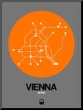 Vienna Orange Subway Map