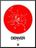 Denver Red Subway Map