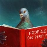 Pooping on People Reproduction d'art par Lucia Heffernan