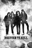 "KISS Watercolor - ""Dressed to Kill"""