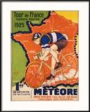 Tour de France, c.1925 Reproduction giclée encadrée