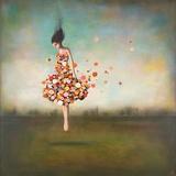 L'infinitude en fleur Reproduction d'art par Duy Huynh