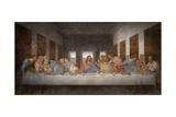 La cène Reproduction d'art par Leonardo Da Vinci