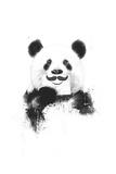 Funny Panda Giclée premium par Balazs Solti