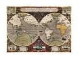 Vera Totius Expeditionis Nauticae Reproduction d'art par Jodocus Hondius