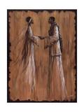 Promesse Reproduction d'art par Monica Stewart