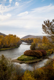 The Yakima River On The East Side Of The Cascades In Washington