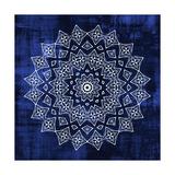 Indigo Mandala 2 Reproduction d'art par Kimberly Allen