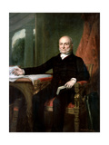 Official Portrait of President John Quincy Adams by George PA Healy  1858