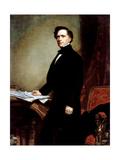Portrait of President Franklin Pierce  1858