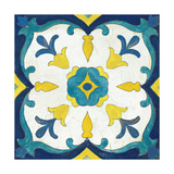Andalucia Tiles A Blue and Yellow