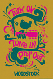 Woodstock - Turn On  Tune In  Drop Out (Yellow)