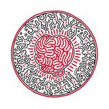 Sans titre, 1985 Giclée par Keith Haring