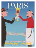 Paris  France - Pan American World Airways