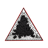 A Pile of Crowns for Jean-Michel Basquiat, 1988 Giclée par Keith Haring