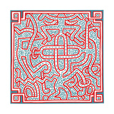 Untitled, 1989 Giclée par Keith Haring