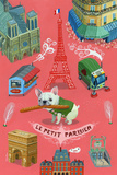 Le Petit Parisien Reproduction d'art par Aaron Meshon