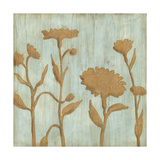 Golden Wildflowers I Giclée premium par Megan Meagher