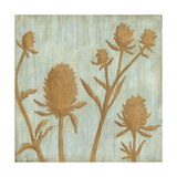 Golden Wildflowers IV Giclée premium par Megan Meagher