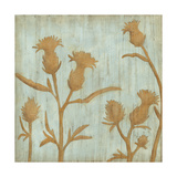 Golden Wildflowers III Giclée premium par Megan Meagher